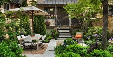 12 innovative small garden design without grass for neat - Backyard ideas without grass ...