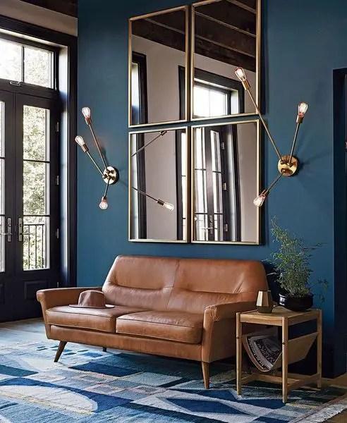 3 Minimalist Blue Livingroom