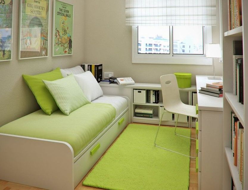 Minimalist Bedroom in Tiny Space