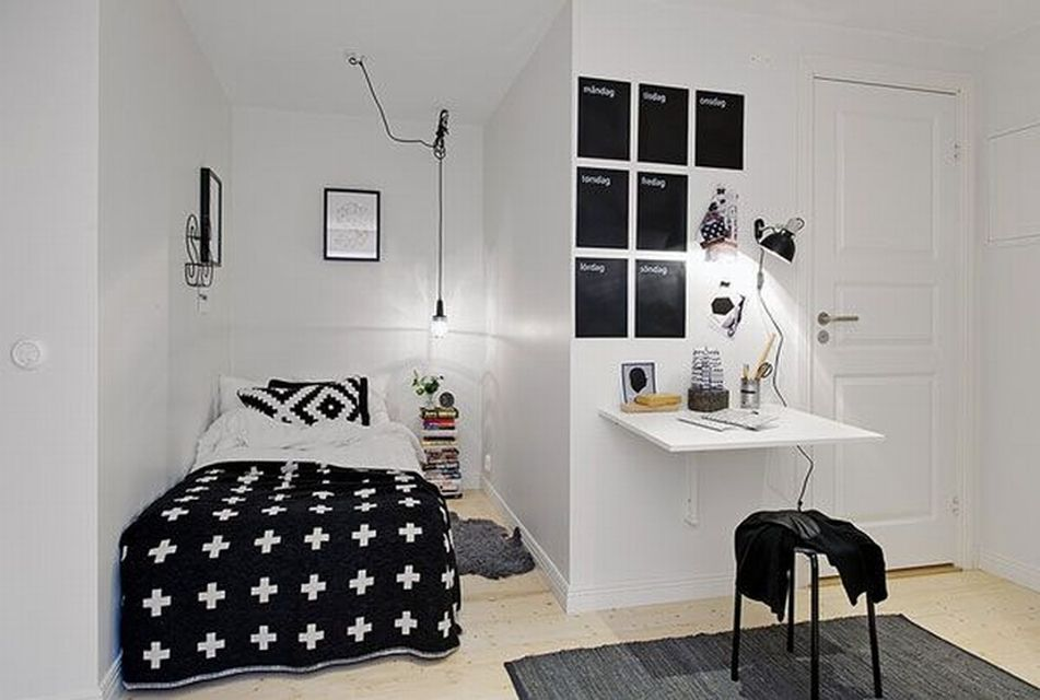 Minimalist Bed Room In Tiny Space (6) Result