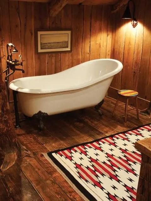 Cozy Rustic Cabin Interior Design (4) Result