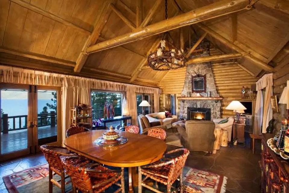 Cozy Rustic Cabin Interior Design (6) Result