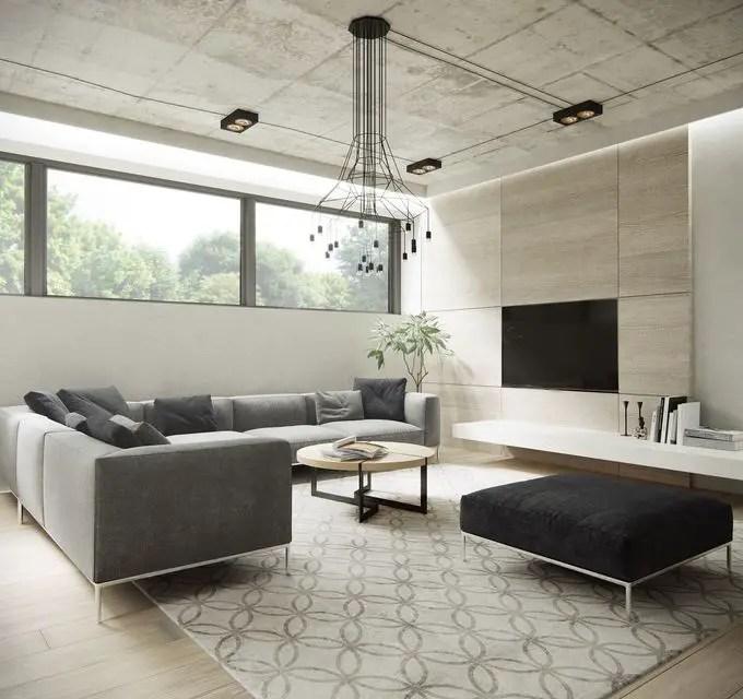 Minimalist Living Room (20) Result