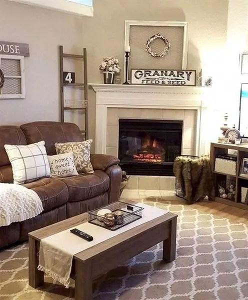 Amazing Farmhouse Living Room Decor