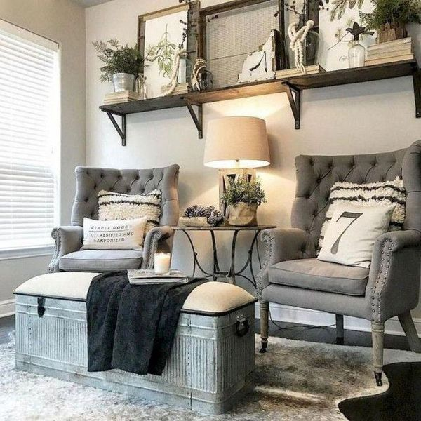 French Country Style Living Room Decor