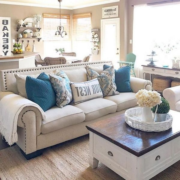 Rural Farmhouse Living Room