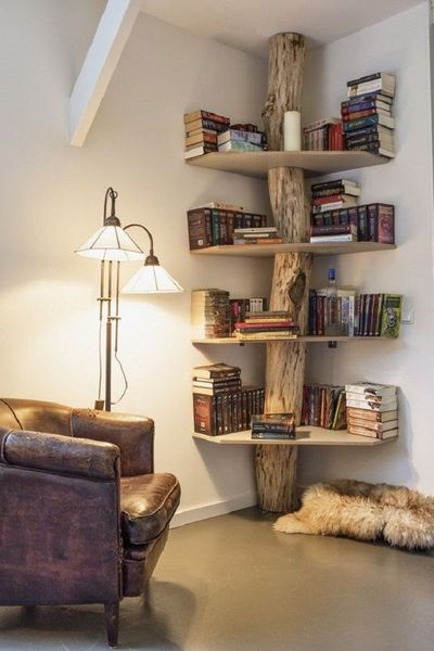Decorated Reading Nook