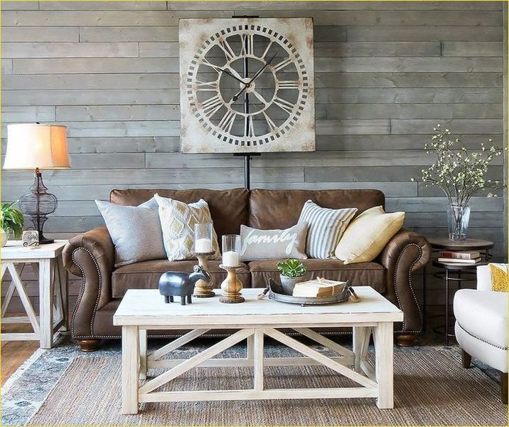 Cozy Farmhouse Living Room