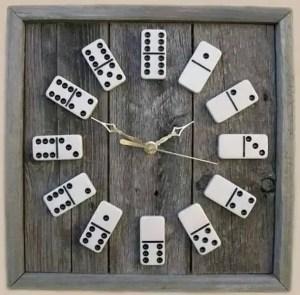 Domino And Barnwood Clock