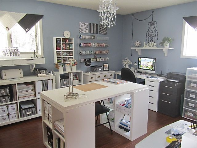 Craft Room Ideas 31