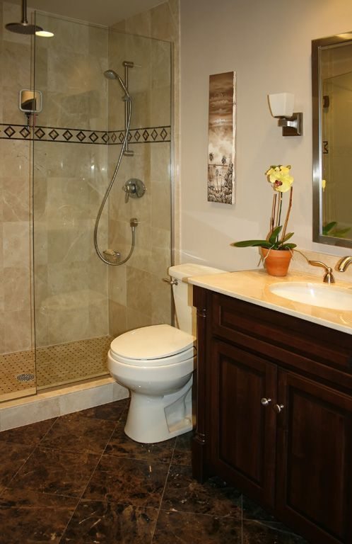 Small Master Bathroom 12