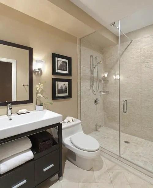 Small Master Bathroom 14