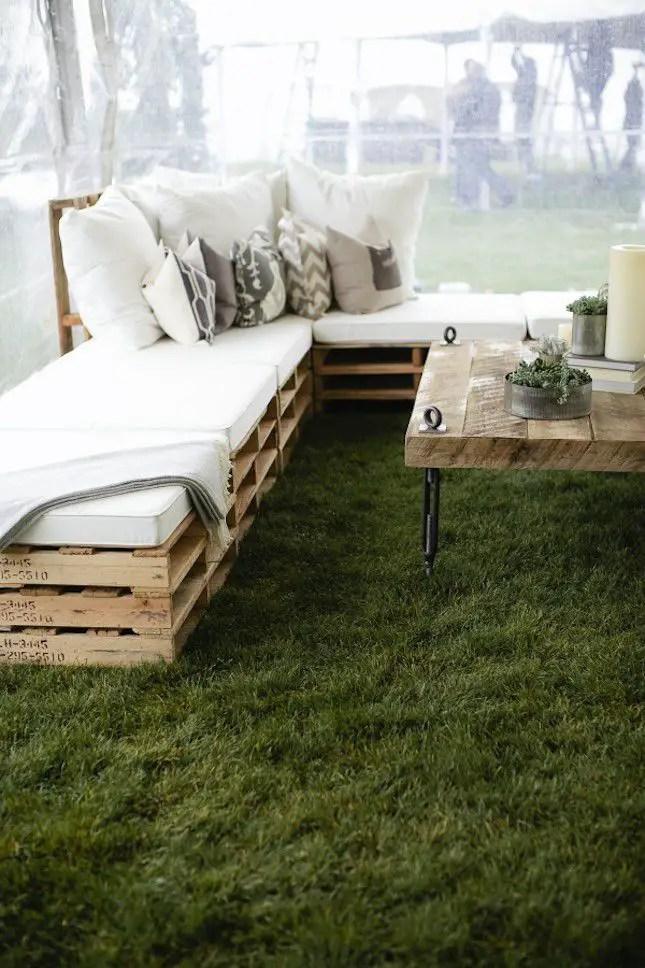 Wooden Pallets Sofa 6