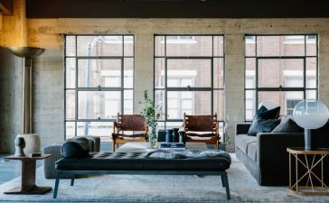 Art District Loft for masculin apartment