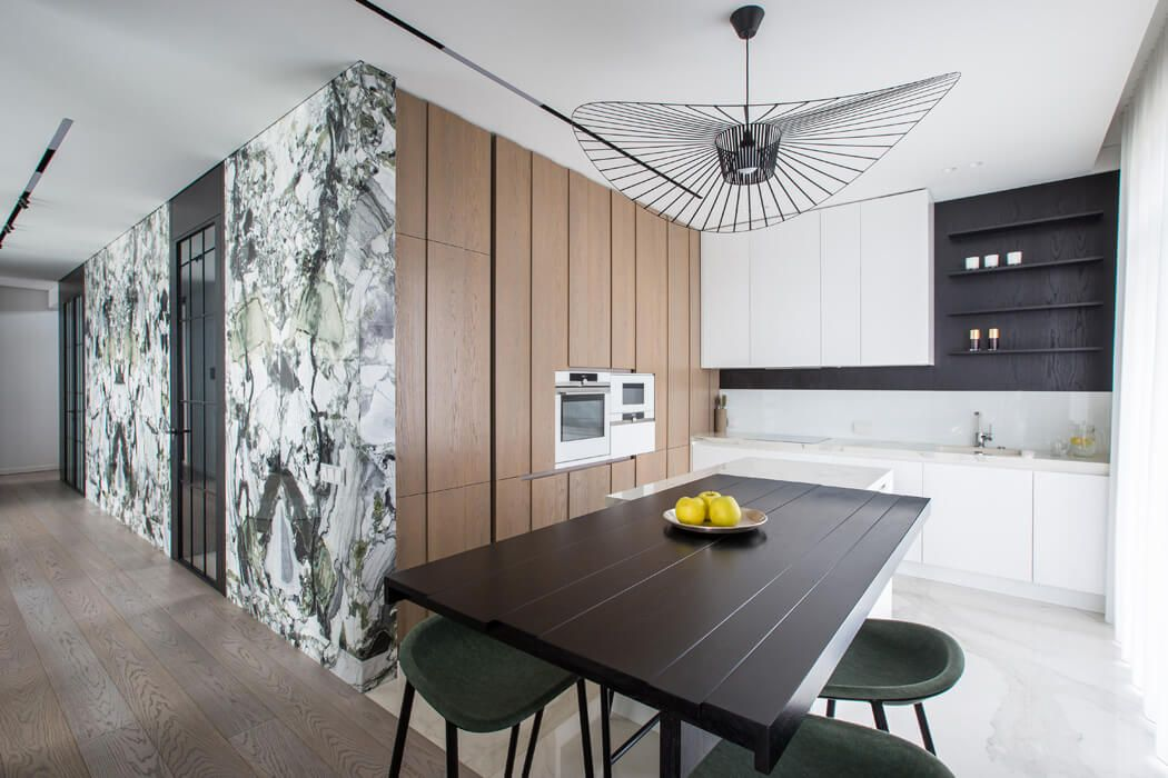 Interior Design Ideas for Luxury Monochromatic Apartments