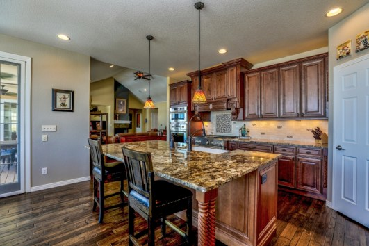 Get a granite countertop that is durable