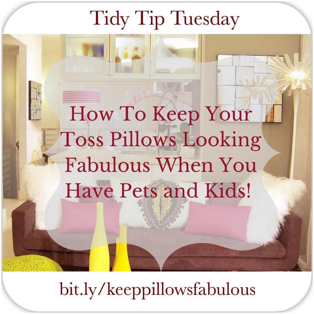 Check out these easy tips to keep your toss pillowshellip