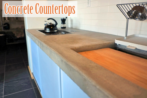Diy Concrete Counters For The Kitchen