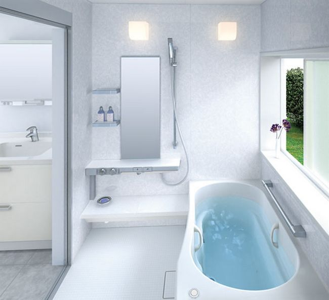 Small bathroom design: a selection of bright ideas for you ... on Small Space:t5Ts6Ke0384= Small Bathroom Ideas  id=76460