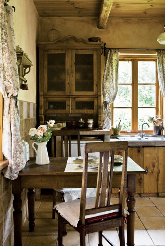French Kitchen Vintage Country