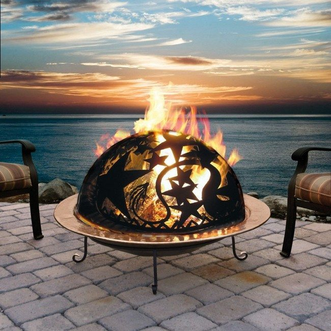 Inspiration for Backyard Fire Pit Designs - Decor Around ... on Fire Pit Inspiration  id=13652