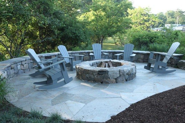 Inspiration for Backyard Fire Pit Designs - Decor Around ... on Fire Pit Inspiration  id=70900