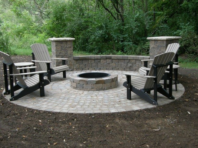 Inspiration for Backyard Fire Pit Designs - Decor Around ... on Fire Pit Inspiration  id=17094