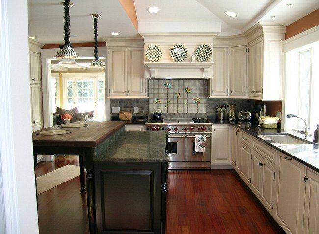 Image Result For Kitchen Cabinets Around Windows