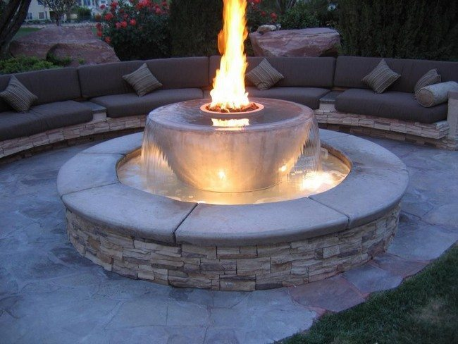 Inspiration for Backyard Fire Pit Designs - Decor Around ... on Fire Pit Inspiration  id=38368