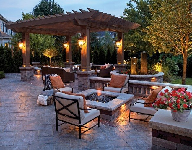 Inspiration for Backyard Fire Pit Designs - Decor Around ... on Outdoor Fire Pit Ideas id=68218