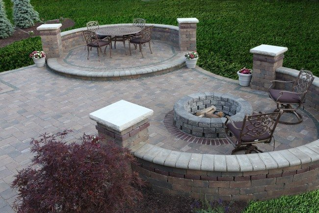 Inspiration for Backyard Fire Pit Designs - Decor Around ... on Fire Pit Inspiration  id=60527