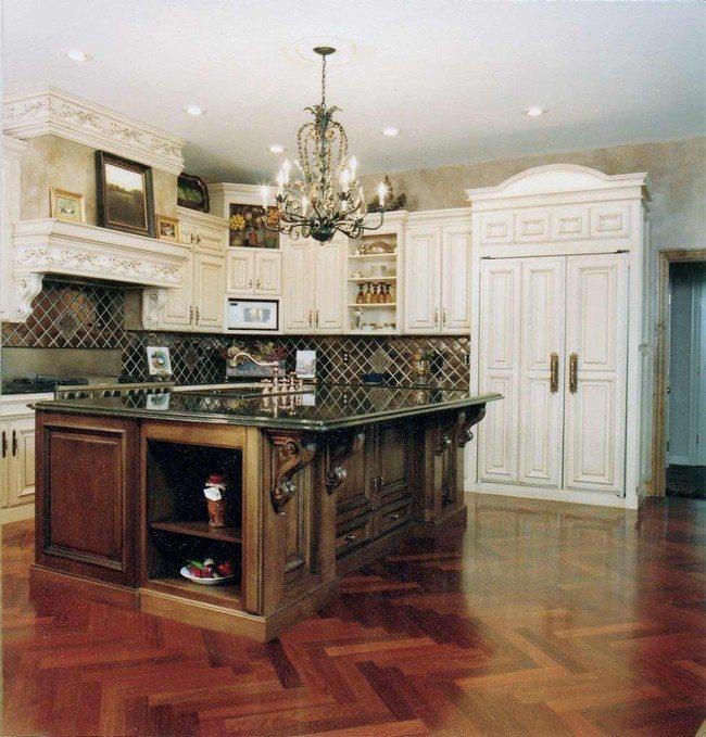 French Country Kitchen Décor - Decor Around The World on Rustic:rkh3E0Gkuju= Farmhouse Kitchen Ideas  id=35636