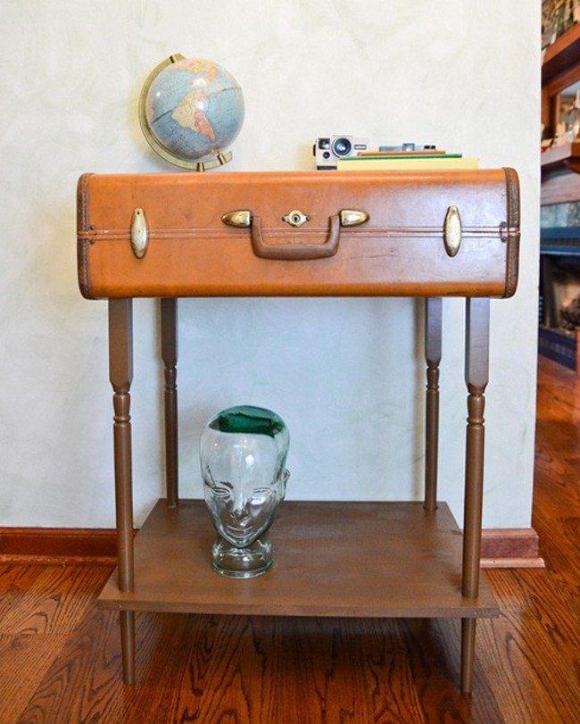 Repurposed Suitcases Simple DIY Ideas For Decorating Your