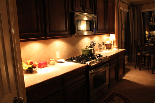 under kitchen cabinet light another easy update cabinet lighting decorchick 27567