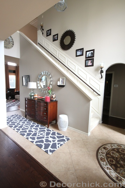 A Small Change But A Big Impact New Entry Rug Decorchick