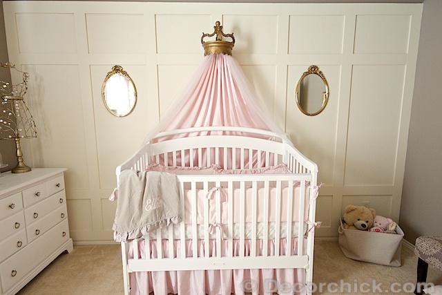 Nursery Bed Crown