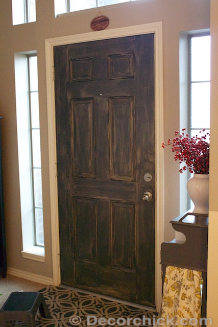 More painted interior doors before and after decorchick one coat of paint on door planetlyrics Image collections