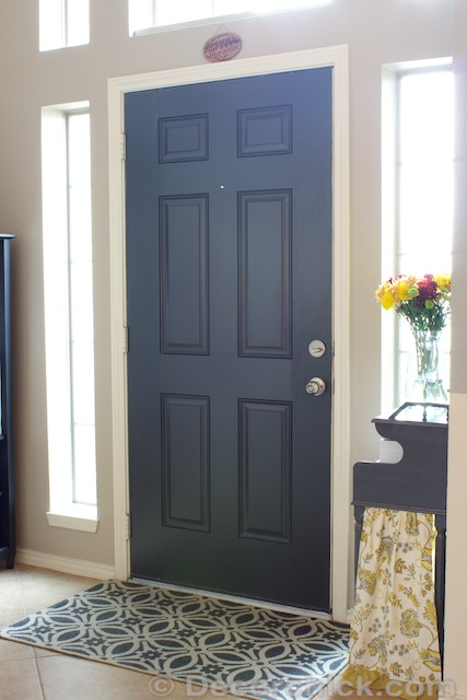 More painted interior doors before and after decorchick painted black interior door decorchick planetlyrics Image collections