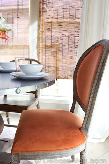 Breakfast Room Updates With New Table And Chairs