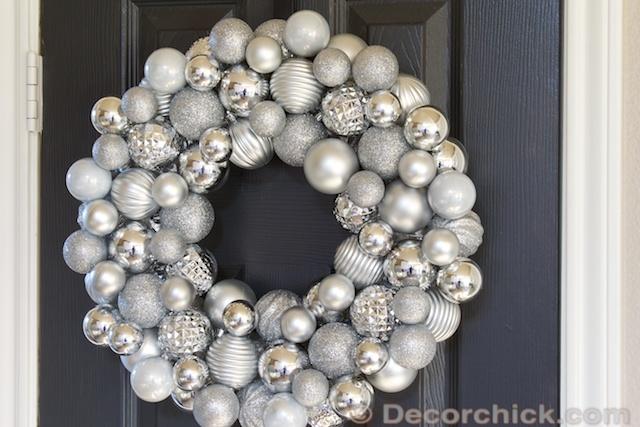 Christmas Ornament Wreath Decorchick
