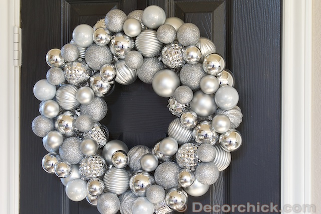 Ornament Wreath | www.decorchick.com