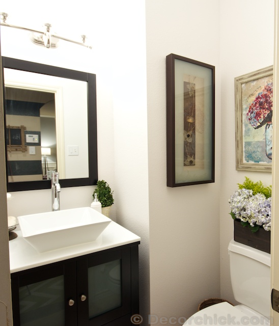 Win Bathroom Makeover: Powder Bathroom Makeover Reveal!
