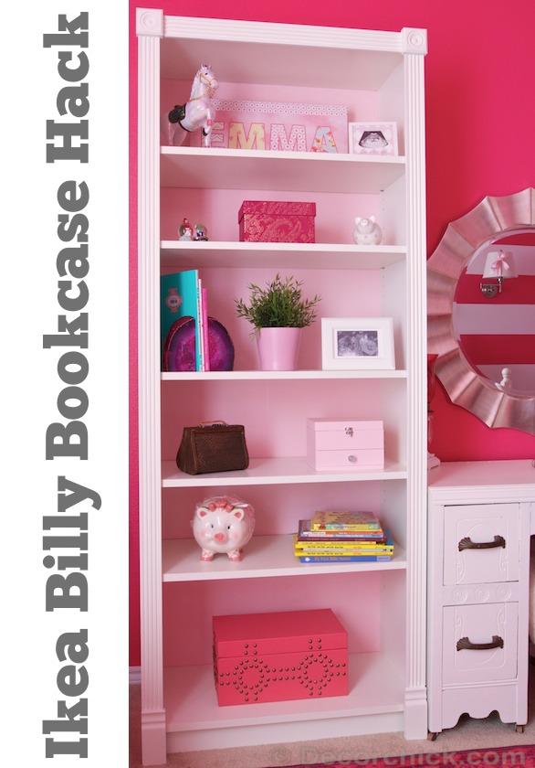 IKEA Billy Bookcase Hack - Decorchick!