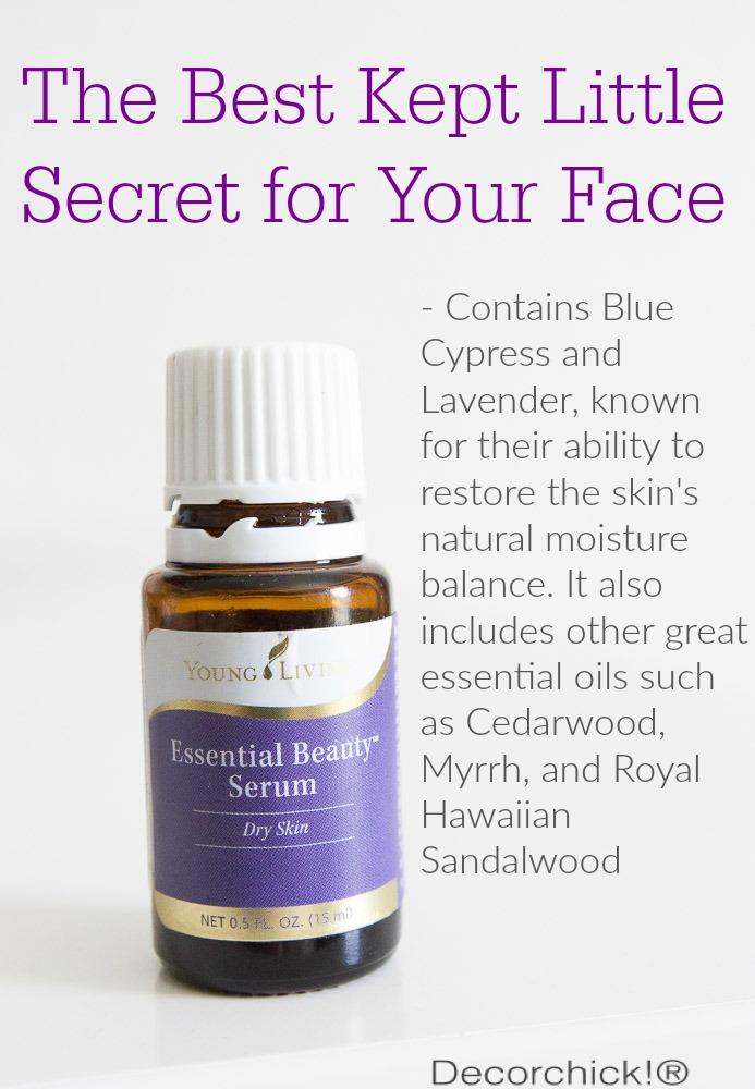 The Best Kept Secret for Your Face | Decorchick!®