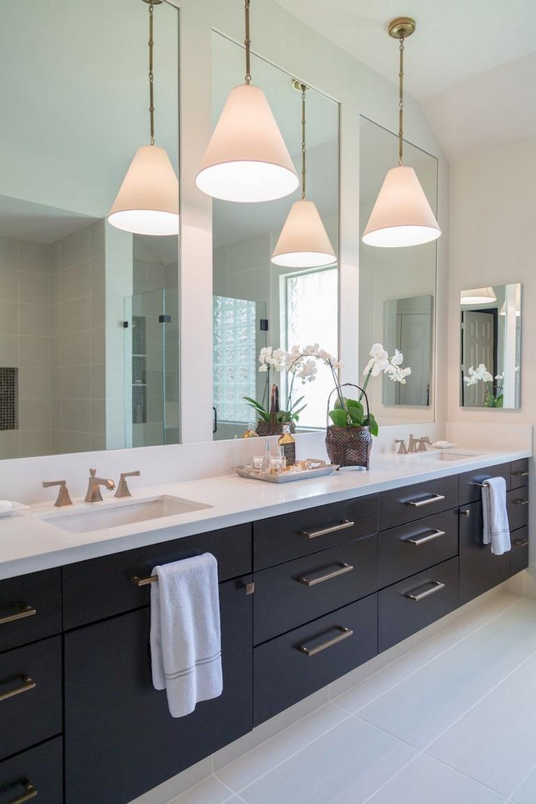 Sure, carpet is cheaper, but it doesn't last as long. 80+ Elegant Master Bathroom Remodel Ideas