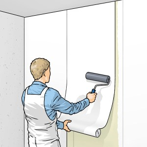How to hang a wallpaper
