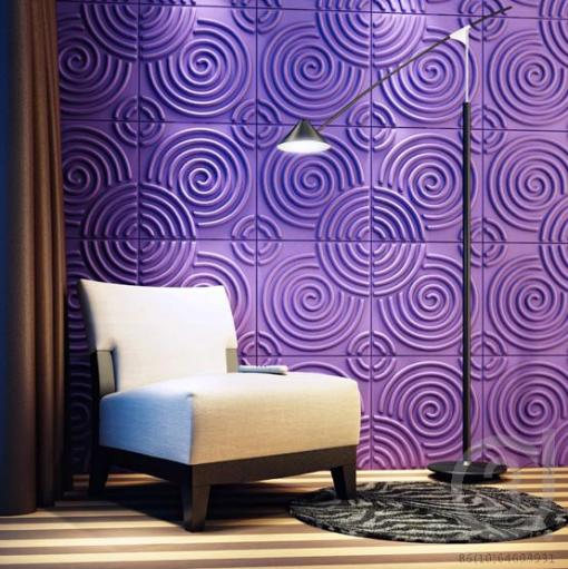 Ripple 3D Wall Panels - Sold in Nigeria by DecorCity-