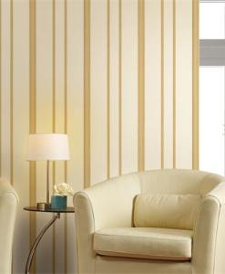 Gold and White Stripes Wallpaper 1548 effect Sold in Nigeria by DecorCity