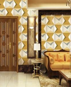 Sand and Chromium Modern 3D wallpaper MK1010 effect Sold in Nigeria by DecorCity