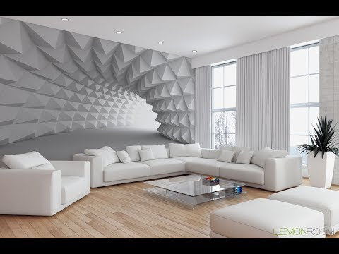 White Space Virtual Reality 3D Custom wall murals / wallpapers – DCWM00013